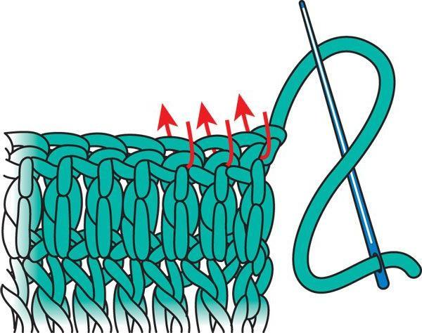 как закончить вязание