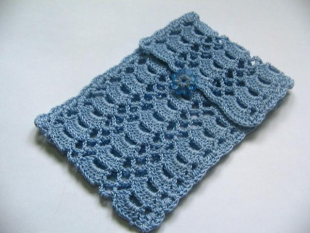crochet phone case