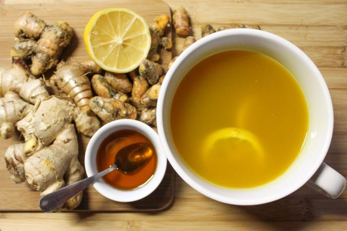 Как сделать чай с имбирем и