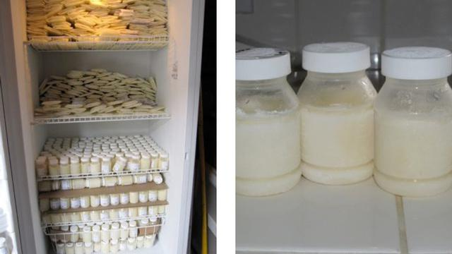 Как правильно заморозить грудное молоко в домашних условиях