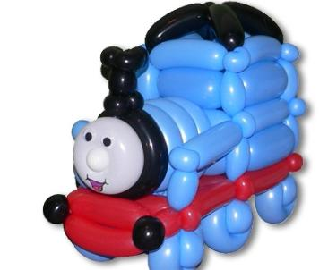 легко подберете поезд из воздушных шаров фото лабазе расстоянии вытянутой