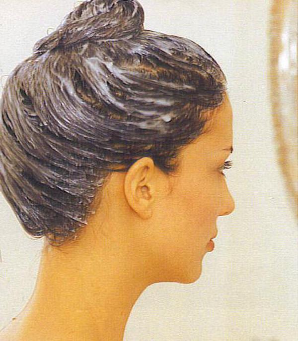 Реклама шампуня против выпадения волос