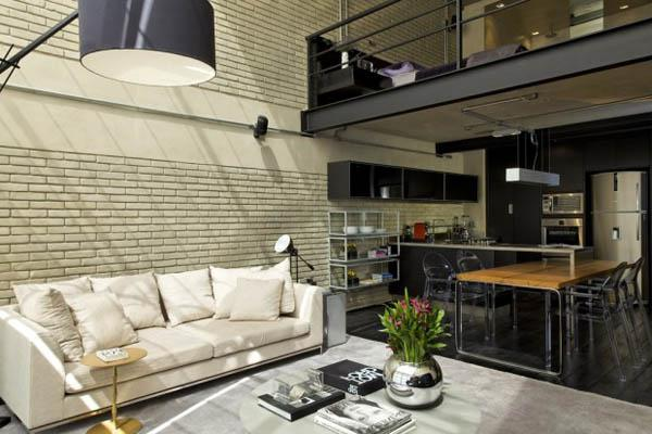 loft style in the interior