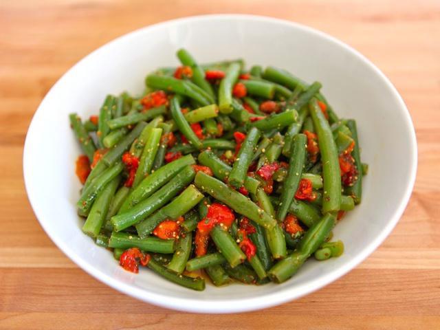 bean garnish