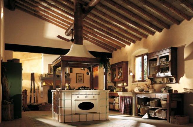Кухни в стиле прованс выполняются в