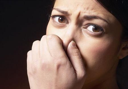 bad smell of urine