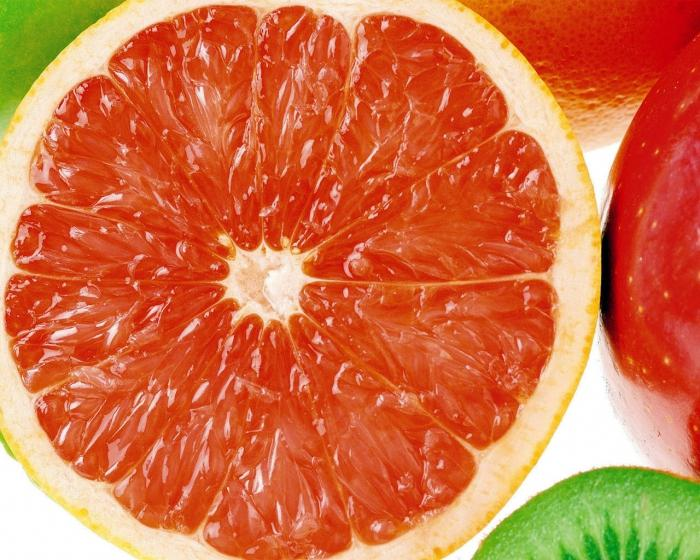 грейпфрут как есть: