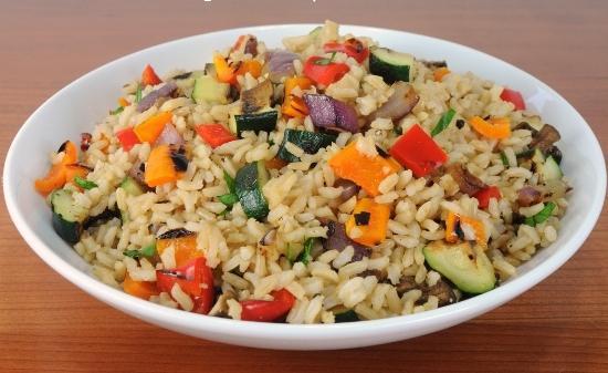 Рис с овощами по мотивам конгри – кулинарный рецепт