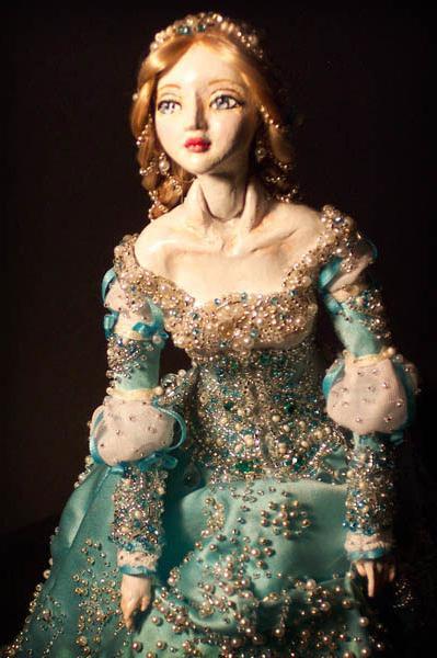 Полимерная кукла своими руками