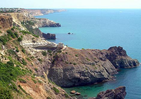 Crimea New World Beach