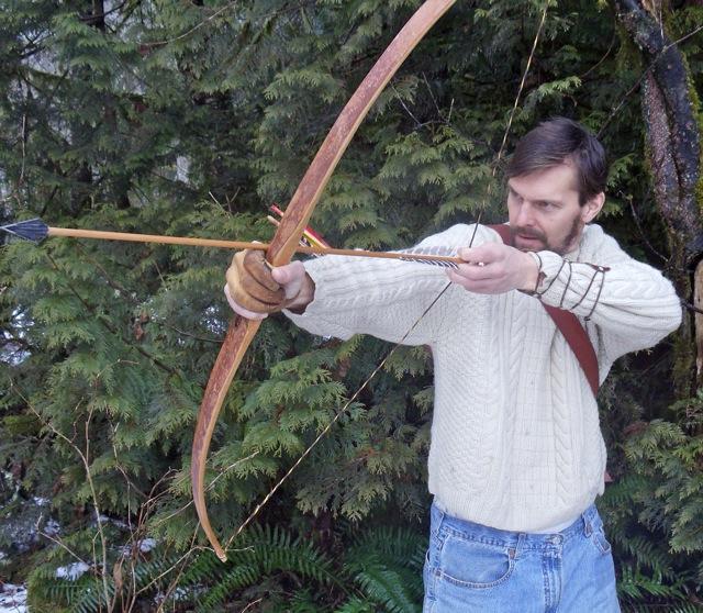 Как сделать лук и стрелу