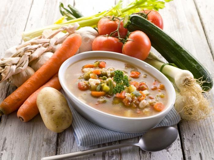 Овощные супы для похудения секреты
