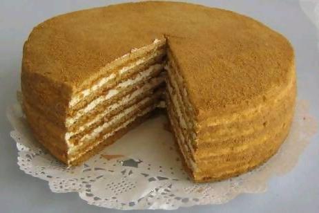 Коржи торта рецепт фото