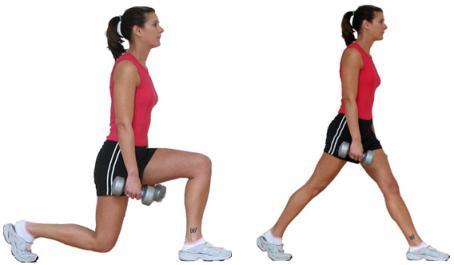 какими упражнениями убрать жирные ляшки