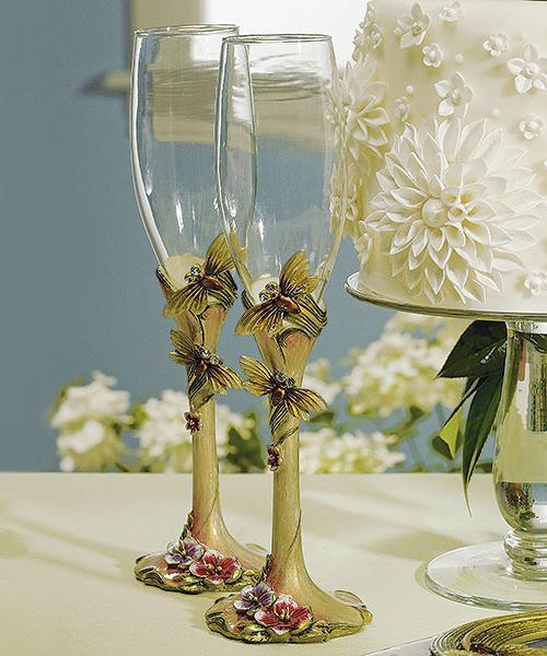Как оформить фужеры на свадьбу своими руками фото 952