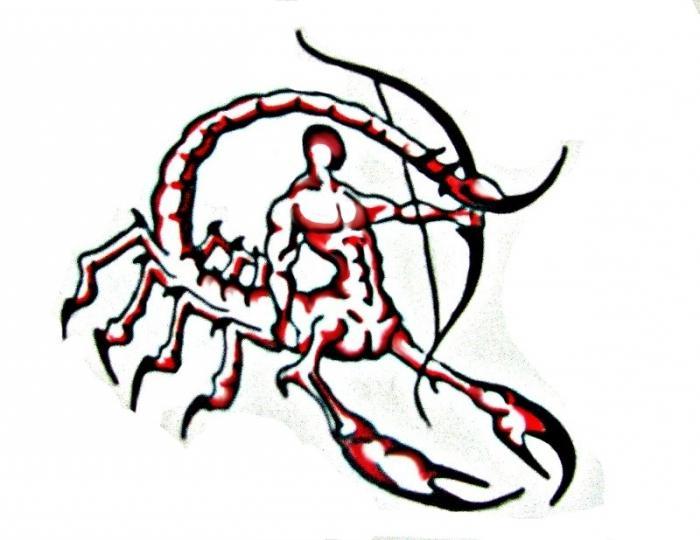 Поцелуй скорпион и стрелец