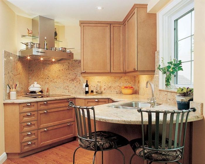 Мой дом : Оформление интерьера небольшой кухни