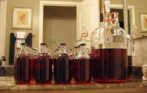 how to make wine from cherry