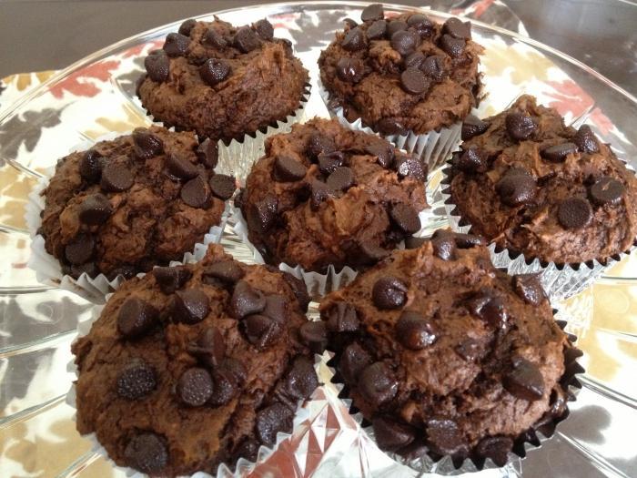 Маффин шоколадный с шоколадом с фото