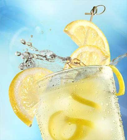 худеем с лимоном и водой