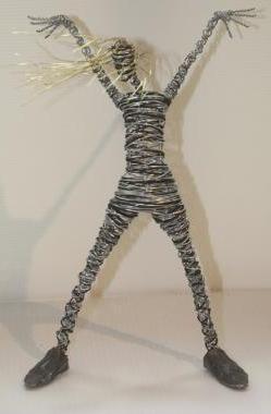 Из проволоки скульптуры своими руками из