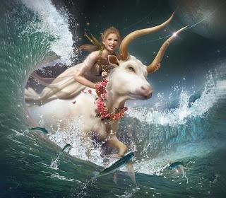 The zodiac sign of Taurus