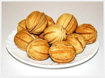 cooking nuts with condensed milk