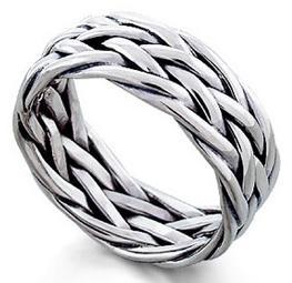 Мужские кольца из серебра: украшения