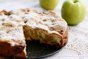 Шарлотка с яблоками, рецепт фото