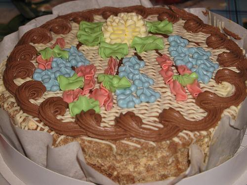 Торт киевский сделать