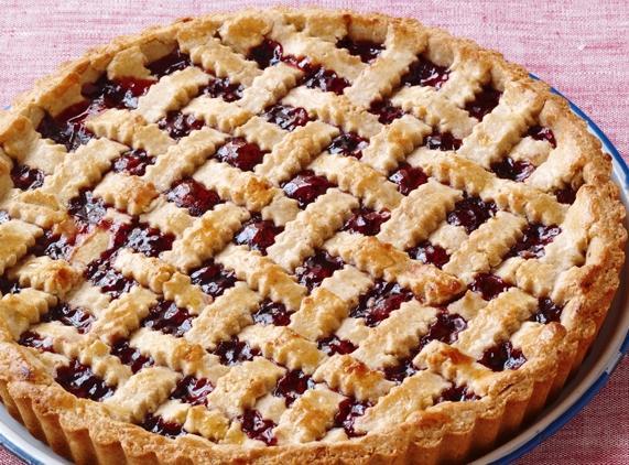Самый вкусный пирог с вареньем из клубники, рецепт, фото ...