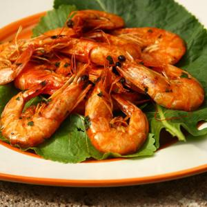 fried shrimp in batter