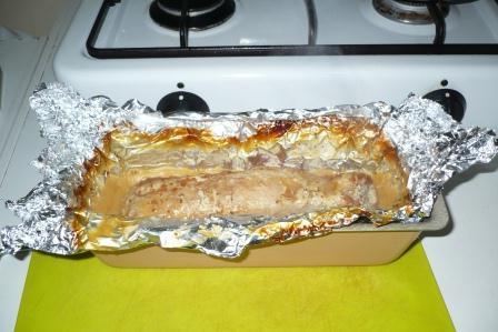 pork in the oven in foil