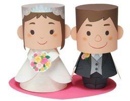 Рисунки на бумажную свадьбу