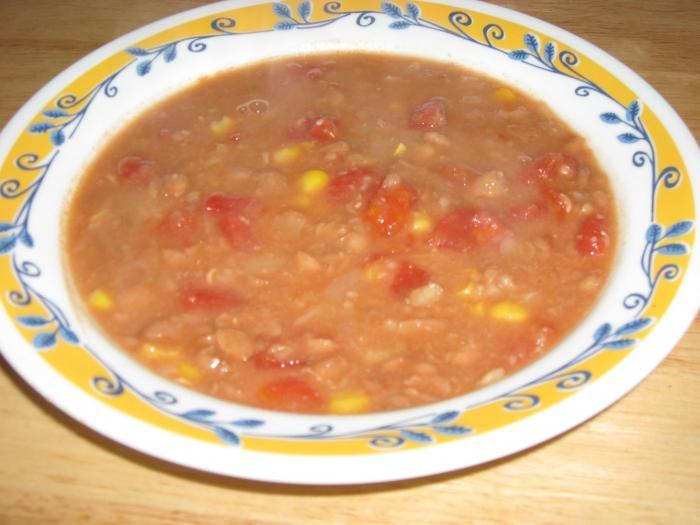 Как сварить суп из фасоли рецепт 179