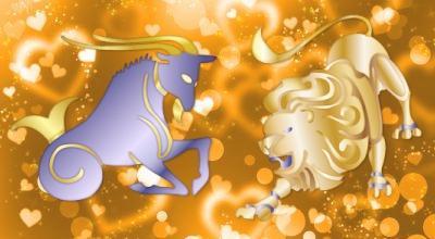 совместимость знаком лев и козерог