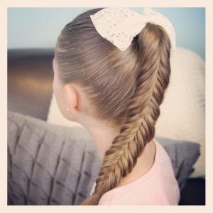 fishtail the other way round