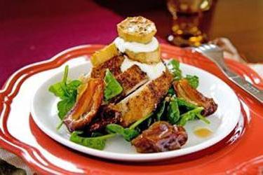 Салат с курицей и черносливом вот это