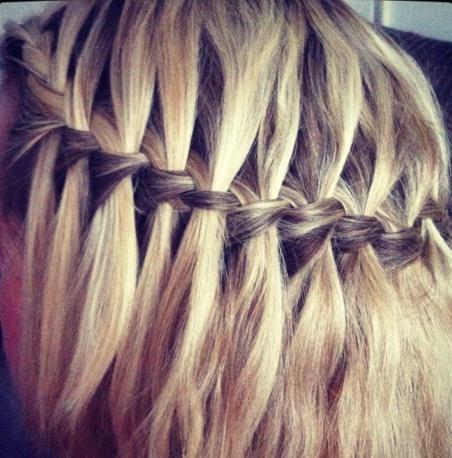 Для каких волос подходит коса водопад