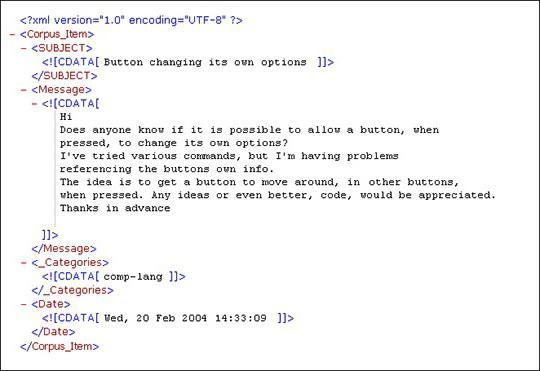 Формат файла xml - описание расширения, чем открыть