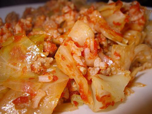 cabbage rolls lazy