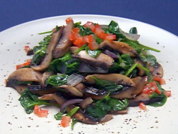 рецепты салатов с грибами замороженными