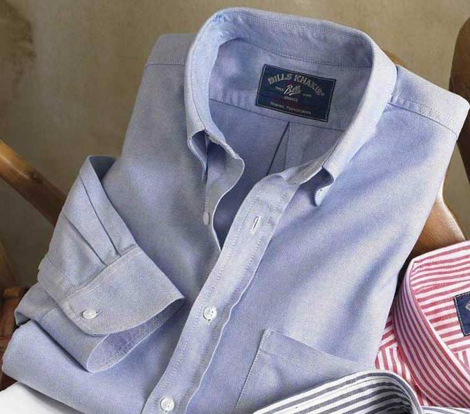 Как складывать рубашки