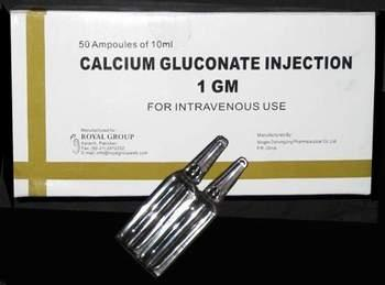 Calcium Gluconate Composition
