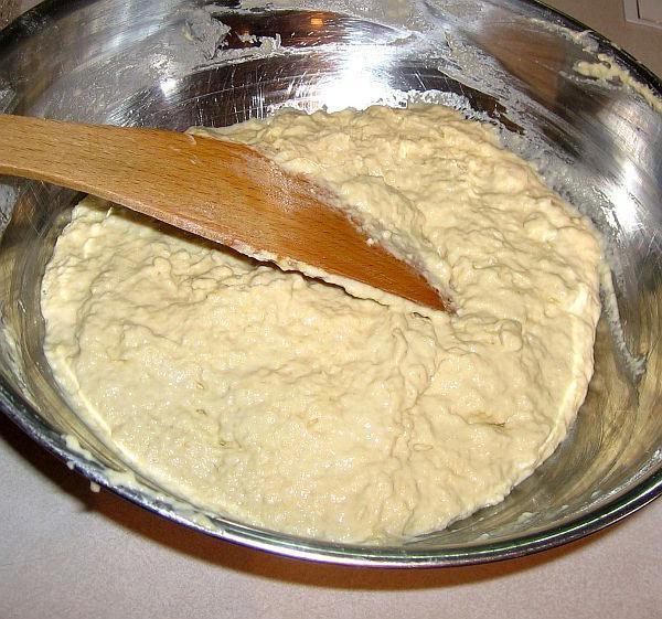 Тесто на пельмени заварное с яйцом с фото