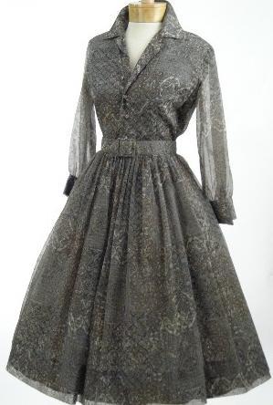 Платья в стиле стиляг выкройка