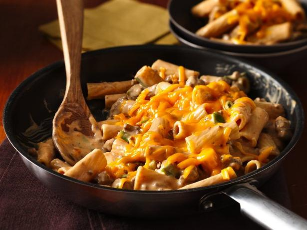 pasta with minced chicken