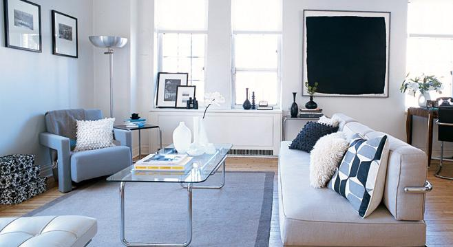 how to arrange the furniture in the room