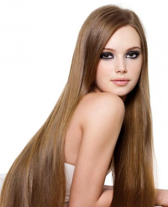 Русый цвет волос с рыжим отливом