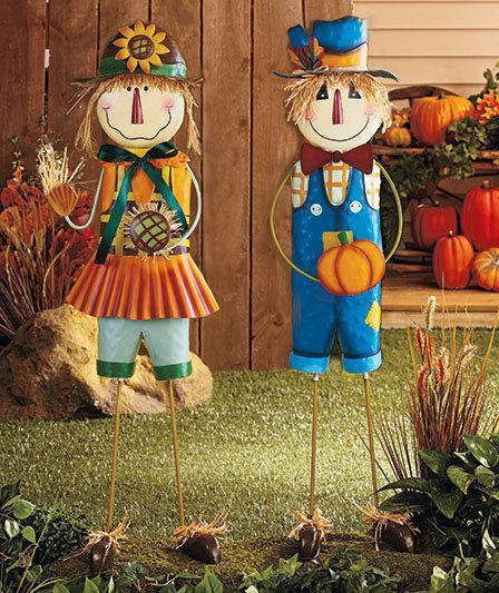 Фигурки для сада своими руками фото 887